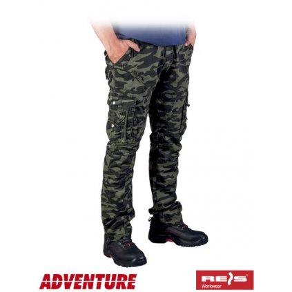 RAW ADVENTURE: Pánske nohavice SPV-COMBAT MO