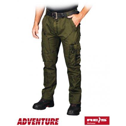 RAW ADVENTURE: Pánske nohavice SPV-COMBAT Z