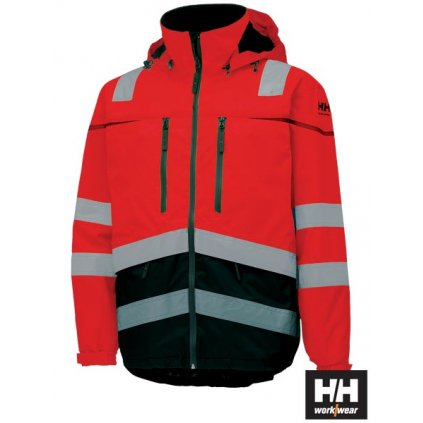 RAW HELLY HANSEN: Reflexná nepremokavá bunda HH-TONS-J CGF