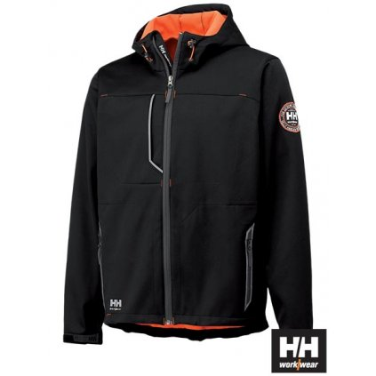 RAW HELLY HANSEN: Softshellová bunda HH-LEON B