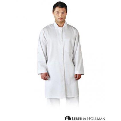 RAW L&H: Pánsky biely plášť LH-HCL_CME W