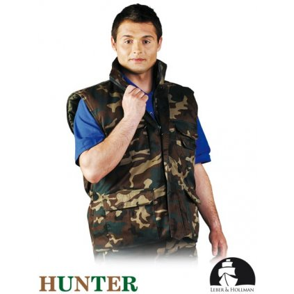 RAW L&H: Pracovná vesta bez rukávov LH-HUNBE MO