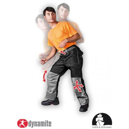 RAW L&H: Pracovné nohavice do pása LH-DYNAMITE-T BS
