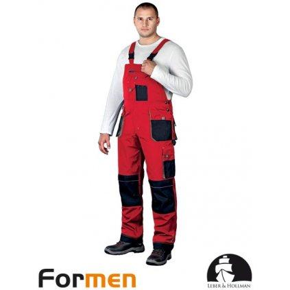 RAW L&H: Pracovné nohavice s náprsenkou LH-FMN-B CBS