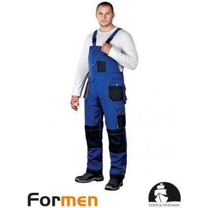 RAW L&H: Pracovné nohavice s náprsenkou LH-FMN-B NBS