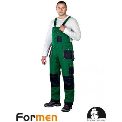 RAW L&H: Pracovné nohavice s náprsenkou LH-FMN-B ZBS