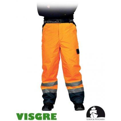 RAW L&H: Zimné reflexné nohavice do pása LH-VIBETRO P