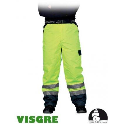 RAW L&H: Zimné reflexné nohavice do pása LH-VIBETRO Y