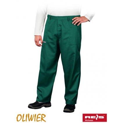 RAW OLIVIER: Pracovné nohavice do pása SOP Z