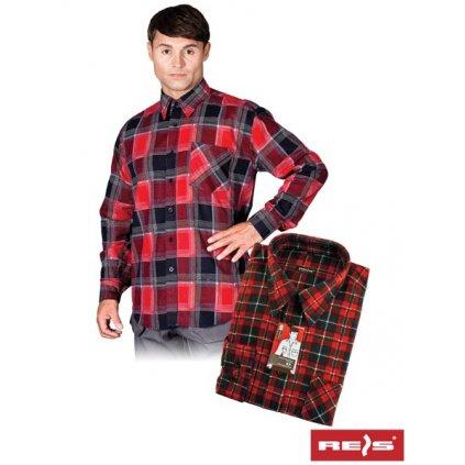 RAW REIS: Flanelová košeľa KF GC