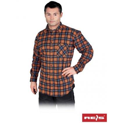 RAW REIS: Flanelová košeľa KF GP