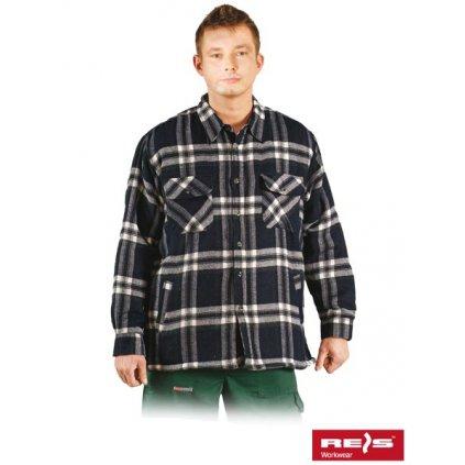 RAW REIS: Flanelová košeľa KFTOP GW