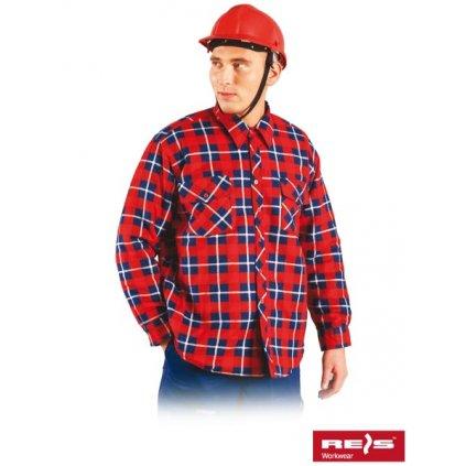 RAW REIS: Flanelová košeľa KFWIN CN