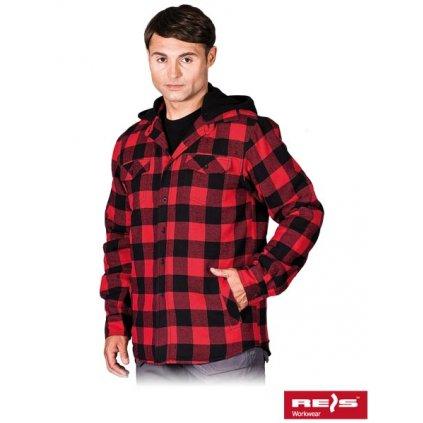d60976800f8b RAW REIS  Flanelová košeľa KFWINHOOD CB