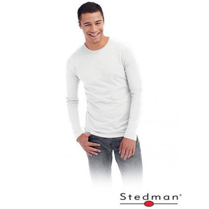 RAW STEDMAN: Tričko s dlhým rukávom ST 2500 WHI
