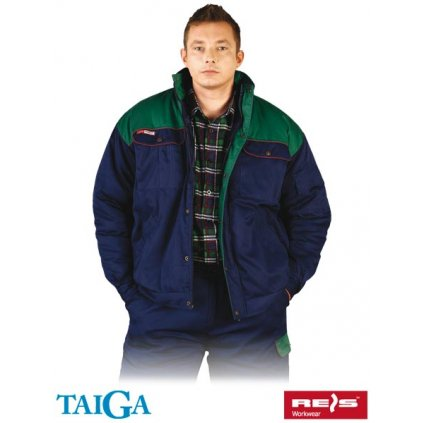 RAW TAIGA: Zimná pracovná bunda BTOGZ GZ