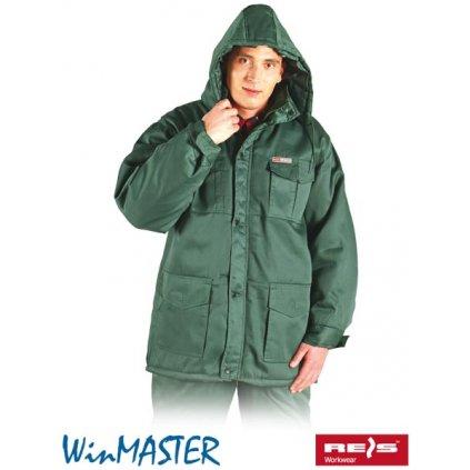 RAW WINMASTER: Zimná pracovná bunda KMO-LONG Z